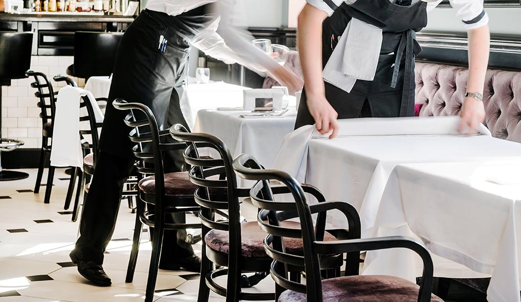 hospitality linen cleaning